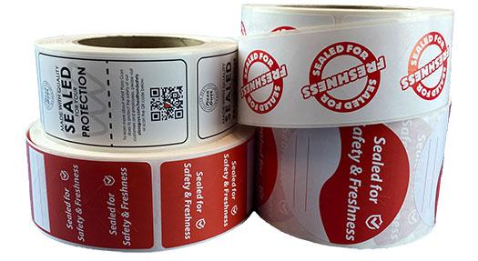Tamper Proof Seal Label Designs