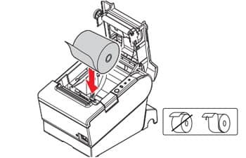 Replacing Thermal Paper Rolls In Your POS Receipt Printer (Epson TM