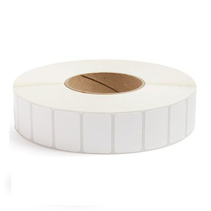 """1.5"""" x 1"""" Removable Adhesive Industrial Thermal Transfer Labels, 3"""" Core, 5,500 Labels/Roll (8 Rolls) - L-RTT8-150100-3P REM"""