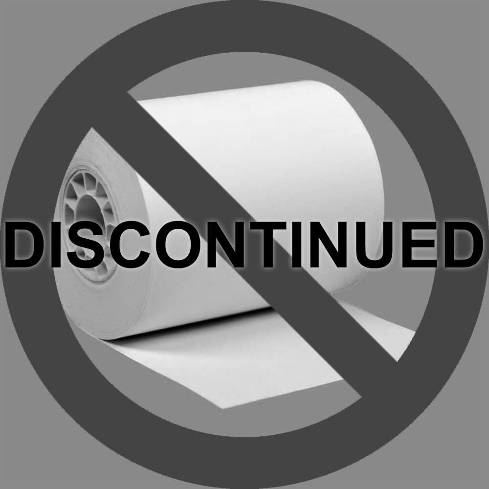 """2 1/4"""" x 110' BPA-Free Super-Saver Thermal Receipt Paper Rolls (50 Rolls)"""