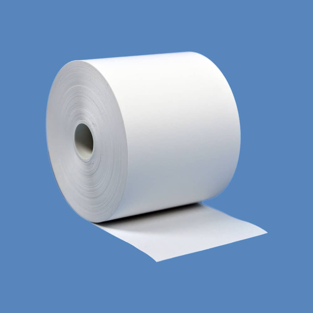"""2 1/4"""" x 230' BPA Free Thermal Roll Paper, 50 rolls/case - T214-230-BF"""