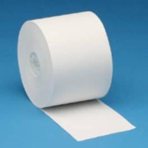 "2 1/4"" x 230' Blue Thermal Roll Paper, 50 rolls/case (BPA FREE) - T214-230-B"
