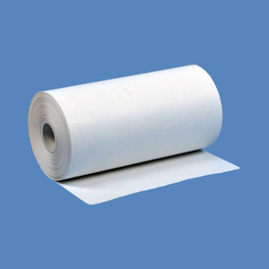 "2 1/4"" x 34' Coreless Thermal Roll Paper, 1 7/32"" OD, 100 rolls/case (BPA FREE) - T214-034"