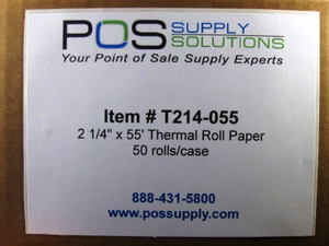 T214-055 Thermal Roll Paper Label
