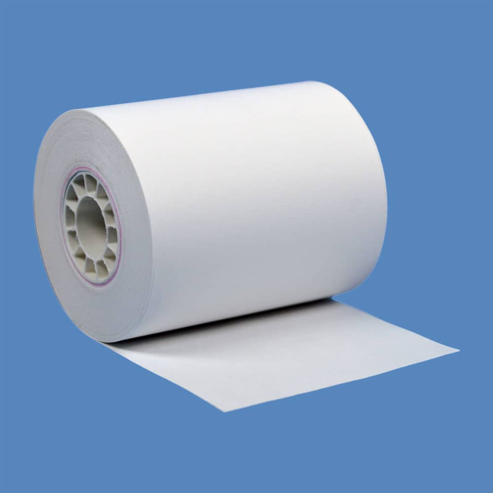 "2 1/4"" x 72' Heavyweight BPA-Free Thermal Receipt Paper Rolls (50 Rolls)"