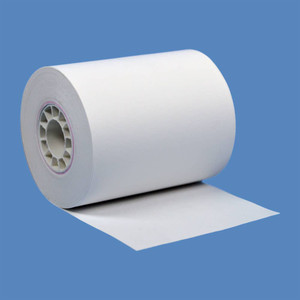"""2 1/4"""" x 72' Heavyweight BPA-Free Thermal Receipt Paper Rolls (50 Rolls) - T214-072-HW"""