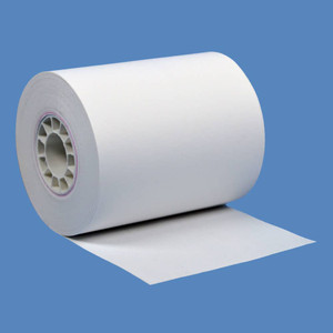 "2 1/4"" x 80' Thermal Roll Paper, 50 rolls/case - T214-080"