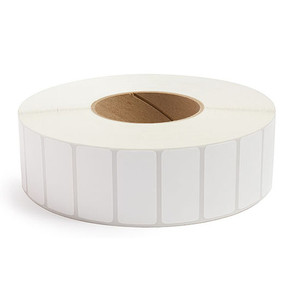 """2"""" x 1"""" Removable Adhesive Industrial Direct Thermal Labels, 3"""" Core, 5,500 Labels/Roll (8 Rolls) - L-RDT8-200100-3P REM"""
