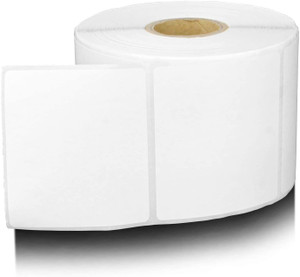 "2.25"" x 3.00"" Thermal Transfer Label Perforated, 500 labels/roll, 12 rolls/case - L-RTT4-225300-1P"