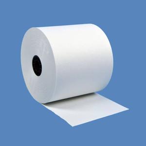 "2 3/4"" x 190' White 1-Ply Bond Paper Rolls (50 Rolls) - B234-190"