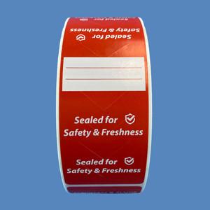 """2"""" x 6"""" Tamper Proof Seal Labels (4 Rolls) - L-TP200600"""