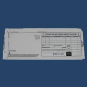 2-Part Long Sales Imprinter Slips (100 slips)