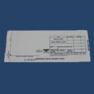 2-Part Long Batch Header Imprinter Slips (100 slips) - IS-2BHL
