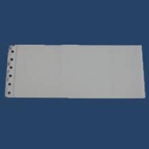 2-Part Long Blank Batch Header Imprinter Slips (100 slips) - IS-2BBHL