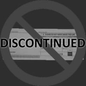 2-Part Long Credit Imprinter Slips (4000 slips) - IS-2CL-40