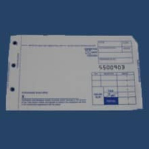 2-Part Short Sales Imprinter Slips (100 slips) - IS-2SS