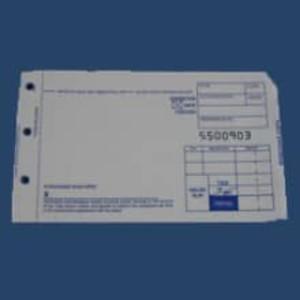 2-Part Short Sales Imprinter Slips (4000 slips) - IS-2SS-40