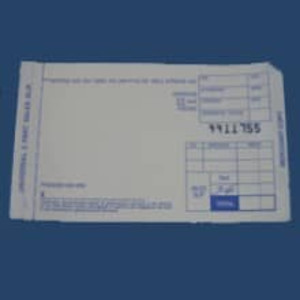 2-Part TRUNCATED SHORT Sales Imprinter Slips (5000 slips) - IS-2SST-50