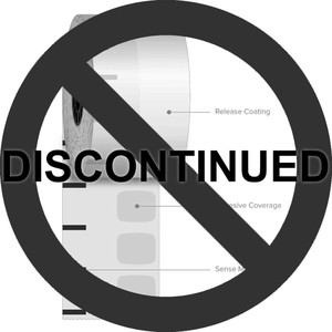 "2 1/4"" x 270' Iconex High-Tack Sticky Media Linerless Labels (12 Rolls) - ICON-9023-1500"