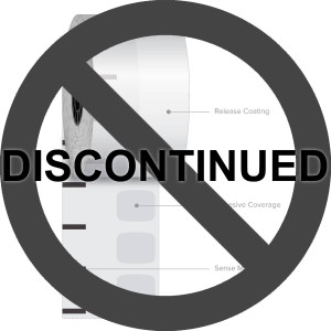 "2 1/4"" x 270' Iconex High Temp Sticky Media Linerless Labels (12 Rolls) - ICON-9023-2083"