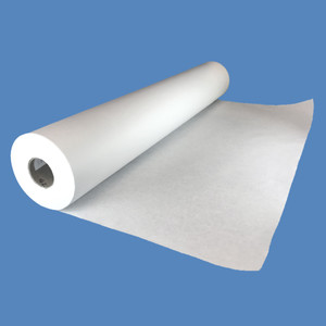 "24"" x 1000' White 40# Butcher Paper Roll - BP-24-40"