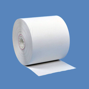 "2 5/16"" x 209' Gilbarco Thermal Gas Pump Paper Rolls (24 Rolls)"
