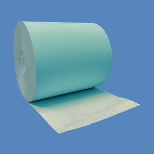 """3 1/8"""" x 230' Blue BPA-Free Thermal Receipt Paper Rolls (50 Rolls)"""