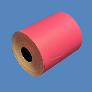 """3 1/8"""" x 230' Pink BPA-Free Thermal Receipt Paper Rolls (50 Rolls) - T318-230-P"""