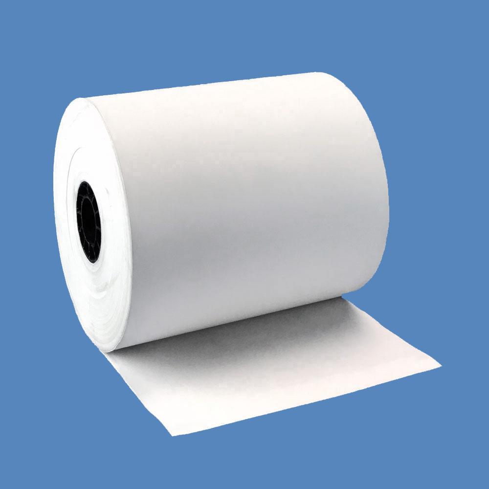 """3 1/8"""" x 230' BPA-Free Thermal Receipt Paper Rolls - 2.3 caliper / 55 gram (50 Rolls)"""