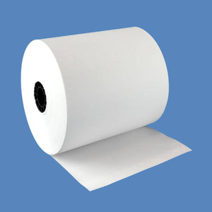 "3 1/8"" x 301' Super Saver Thermal Roll Paper, 50 rolls/case - T318-301"