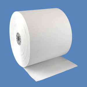 "3 1/8"" x 420' BPA FREE Thermal Roll Paper, 7/16"" core, 24 rolls/case - T318-420-BF"