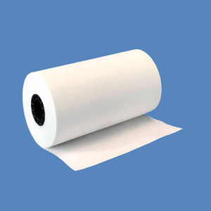"3 1/8"" x 90' Thermal Roll Paper, 7/16"" core, 72 rolls/case - T318-090"