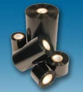 "3.50"" X 984' Zebra Compatible Thermal Transfer Wax Ribbon, 6 Ribbons/box - TTR-18100613-6"