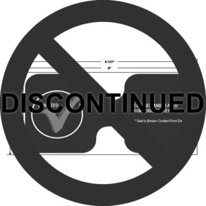 "3"" x 6"" Hotel Door Sanitized Seals, 500 Labels (4 Rolls) - L-TP300600"