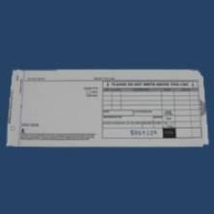 3-Part Long Sales Imprinter Slips (100 slips) - IS-3SL