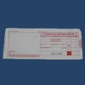 3-Part Long Credit Imprinter Slips (100 slips) - IS-3CL