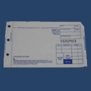 3-Part Short Sales Imprinter Slips (100 slips) - IS-3SS