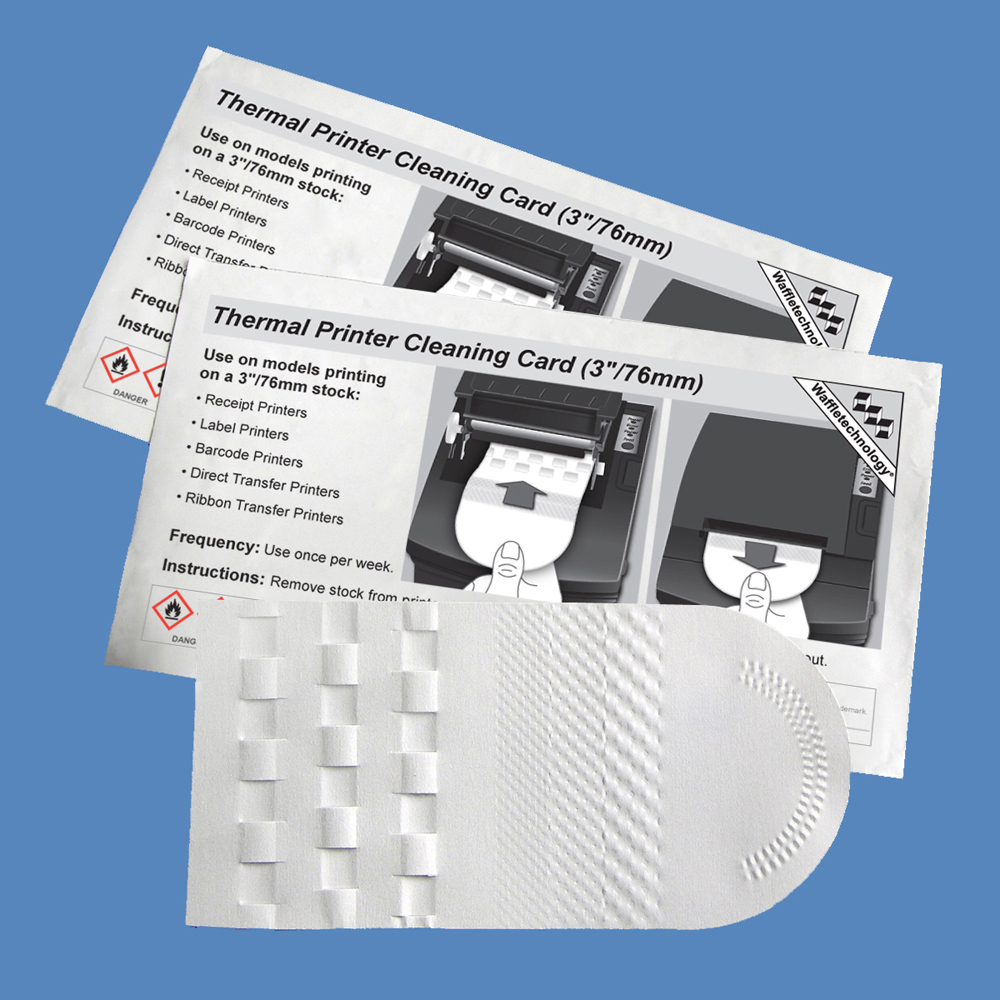 3inch Thermal Printer Cleaning Card