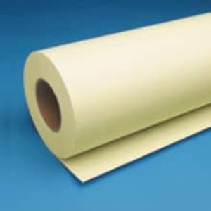 "30"" x 500' 20# Bond Yellow Engineering Roll, 3"" core, 2 Rolls - EP-30505"