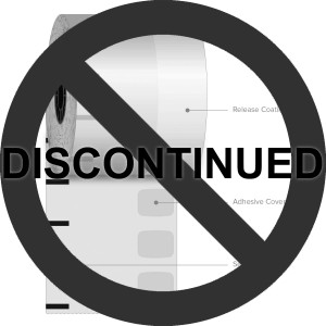 "3 1/8"" x 270' Iconex High Temp Sticky Media Linerless Labels (30 Rolls) - ICON-9023-1463"