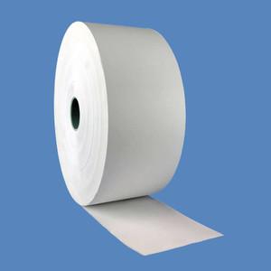 "3 1/8"" x 375' Kiosk Thermal Paper, 1/2"" Core, CSO (16 Rolls) - KR-T318-375-12"