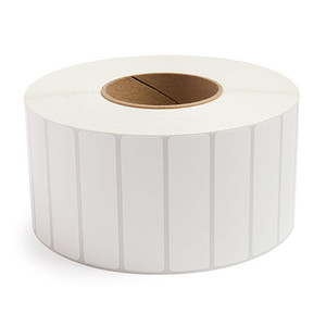 """3.5"""" x 1.5"""" Removable Adhesive Industrial Thermal Transfer Labels, 3"""" Core, 3,600 Labels/Roll (4 Rolls) - L-RTT8-350150-3P REM"""