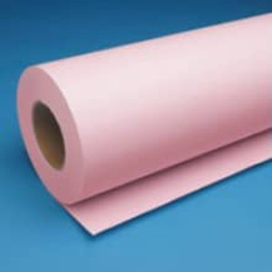 "36"" x 500' 20lb Bond Pink Engineering Rolls (2 Rolls)"