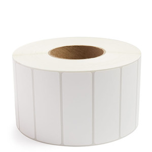 """4.00"""" x 1.50"""" Direct Thermal Label Perforated, 3,850 labels/roll, 4 rolls/case - L-DT400150-3P"""