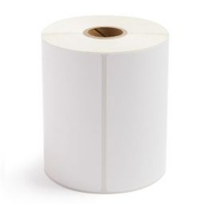 """4.00"""" x 5.00"""" Thermal Transfer Label Perforated, 305 labels/roll, 12 rolls/case - L-RTT4-400500-1P"""