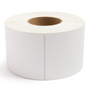 """4"""" x 6"""" Direct Thermal Labels, 3"""" Core, No Perf, 1,000 Labels/Roll (4 Rolls) - L-RDT8-400600-3"""