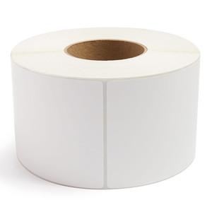 "4"" x 6"" Thermal Transfer Labels, 3"" Core, No Perf, 1,000 Labels/Roll (4 Rolls) - L-RTT8-400600-3"