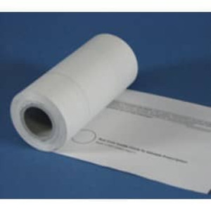 """4 1/4"""" wide WASHINGTON Portrait Format Thermal Prescription Rx Paper Rolls with 6"""" timing marks - RX577"""