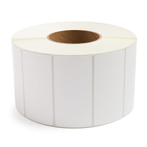 """4"""" x 2"""" Removable Adhesive Industrial Direct Thermal Labels, 3"""" Core, 2,900 Labels/Roll (4 Rolls) - L-RDT8-400200-3P REM"""