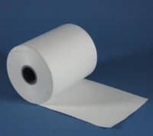 "4 3/8"" wide Thermal Prescription Rx Paper Rolls, no timing mark, 16 rolls/case - RX565"